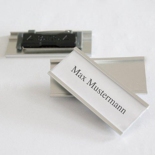 iLP-Aluminium-Namensschilder-Komplettset-10-Stck-mit-Doppelmagnet-und-Clip-Nadelbefestigung-professionelle-Qualitt-modisch-gewlbt-ca-72x32mm-10er-Set