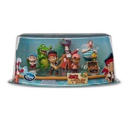 Disney Store play set playset Jake e i pirati Isola che non c'è figurine