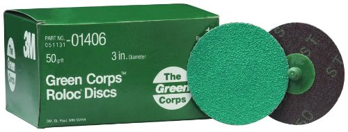 3M 01406 Green Corps Roloc Green Disc