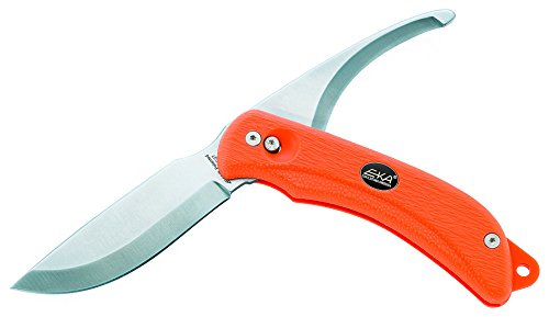 EKA G3 Pivoting Blade Hunting Knife, Orange