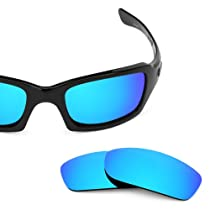 Revant Replacement Lenses for Oakley Fives Squared Polarized Ice Blue