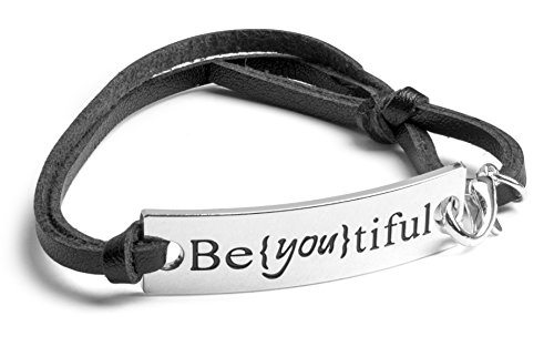 Be (You) tiful Leather bracelet
