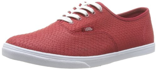 Vans U Authentic Lo Pro, Unisex Adults' Sneakers, Red (Embossedsnake), 6.5 UK ( 40 EU)