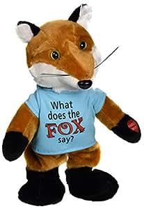 "Chantilly Lane Chantilly Lane The Fox Sings What Does The Fox Say Plush, 12"""