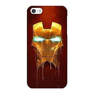 Jugaaduu Superheroes Ironman Back Cover Case For Apple iPhone 5