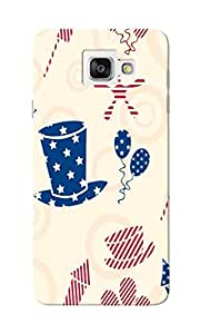 KnapCase American Abstract Designer 3D Printed Case Cover For Samsung Galaxy A7 2016