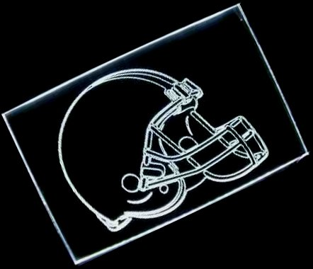 NFL- Cleveland Browns Helmet Neon Light Sign at Amazon.com