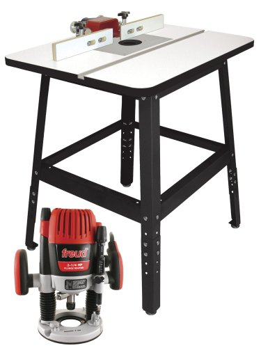 Freud rts5300 routertable combo package with ft3000vce router sh 5 freud rts5300 routertable combo package with ft3000vce router sh 5 micro adjustable fence aluminum insert plate and 16 gauge steel stand greentooth Image collections