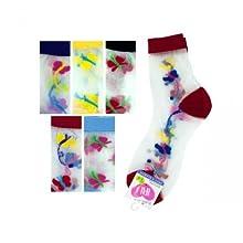 Bulk Buys Hi Cut Argyle 6-8 Socks
