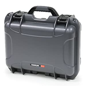 Nanuk 915 Case with Cubed Foam (Graphite)