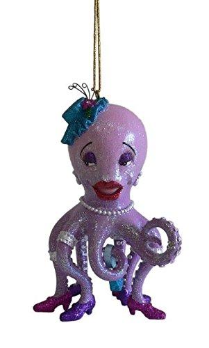 December Diamonds Octavia Ornament - Purple, Blue
