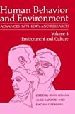 img - for Environment and Culture (Human Behavior and Environment) book / textbook / text book