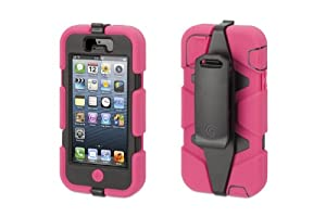 Griffin Survivor Case for iPhone 5 - 1 Pack - Retail Packaging - Pink/Black at Sears.com