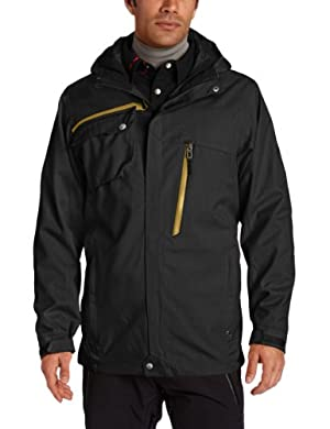 (疯跌)世界知名登山滑雪Spyder Trucker 3-in-1 男士高端防水 3合1冲锋衣3色$120.42