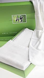 4 Pc 100% Bamboo Fiber Hand Towel. Super Absorbent and Soft.