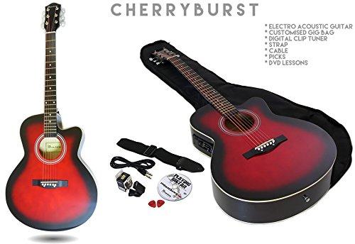 benson-electric-electro-semi-acoustic-guitar-bundle-pack-cherryburst