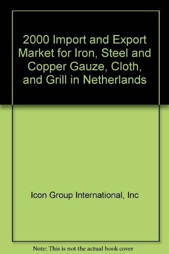 2000 Import and Export Market for Iron, Steel and Copper Gauze, Cloth, and Grill in Netherlands
