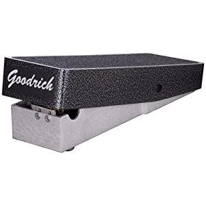 Goodrich 120 Volume Pedal (Color: Black)