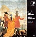 Concerto pour violon, fl�te & claveci...