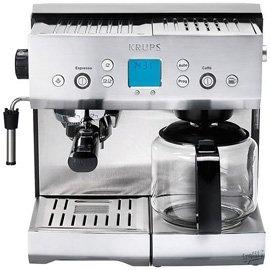 Krups Xp2280 Espresso Machine And Coffee Maker Combination