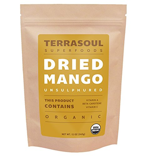 Terrasoul Superfoods Organic Mango Slices, 12oz (Dried Organic Fruit compare prices)