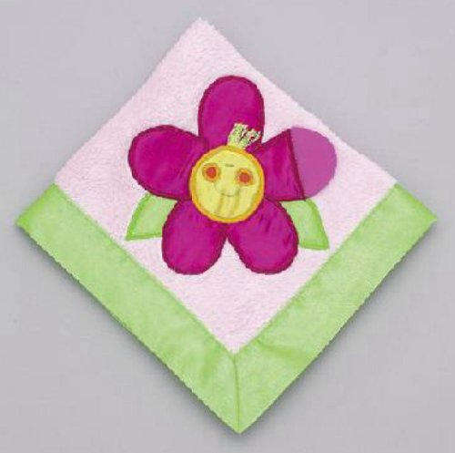 Mullins Square Kids / Teether Blanket, Flower Power
