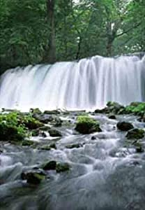 Waterfall Motion Moving Picture Wall Art Lights Sounds