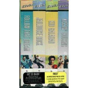 Elvis Commemorative Collection Presley Pack - Volume 2 (Follow That Dream / Jailhouse Rock / Kid Galahad / Kissin' Cousins) [VHS]