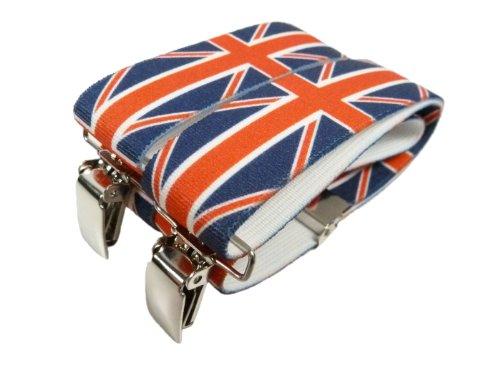 Bretelle Elasticizzata per Bambini 1-5 Anni, 'Y' Clip design, Stampato Modelli - Gran Bretagna
