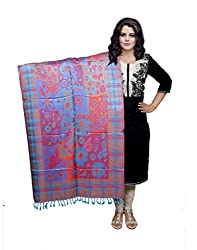 Indiweaves Fashion Women Multicolor Viscose Shawl