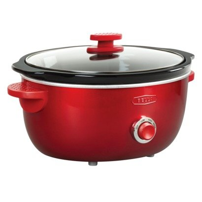 BELLA DOTS COLLECTION 6 QT SLOW COOKER RED