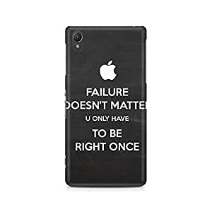 Mobicture Right Once Premium Printed Case For Sony Xperia Z2 L50W