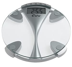 Conair Weight Watchers Glass Memory Electronic Scale
