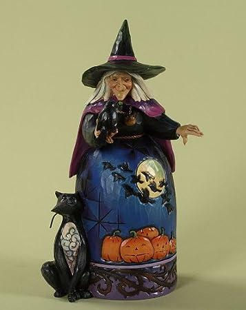 Jim Shore Witch Figurine