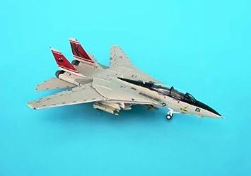 "F-14D maquette avion échelle 1:200 US Navy VF-31 ""Tomcatters"", CVW-14 CVN-74"