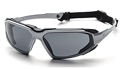 Pyramex SBB5080DT Highlander Sealed Safety Eyewear with Indoor/Outdoor Mirror