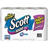 Scott 1000 Bathroom Tissue, 36-Pack