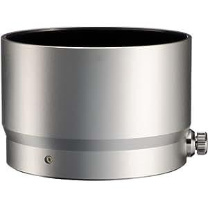 Fotasy Silver Metal Lens Hood for Olympus M.Zuiko Digital ED 75mm f/1.8 Lens, 100% replaces Olympus LH-61F