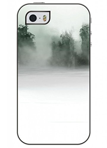 Ouo Fashion Design Of Classic Ink Painting Cool Unique High Quality Snap On Iphone 5 5S Case For Girls
