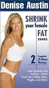 Amazon.com: Denise Austin - Shrink Your Female Fat Zones [VHS]: Denise Austin: Movies & TV