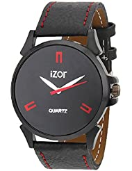 IZOR Black Dial Analogue Casual Wear Watch For Men- IZWA2005