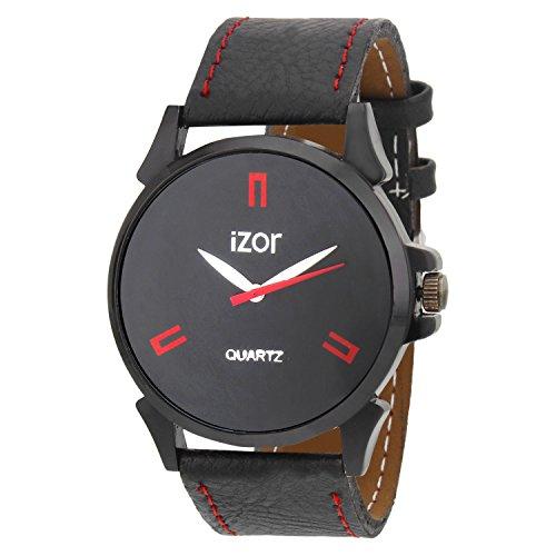 IZOR Black Dial Analogue Casual Wear Watch For Men- IZWA2005