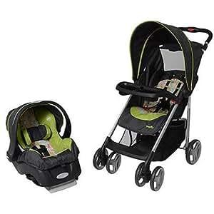 evenflo 50 lbs embrace lx infant car seat woodbudd journeylite travel system baby. Black Bedroom Furniture Sets. Home Design Ideas