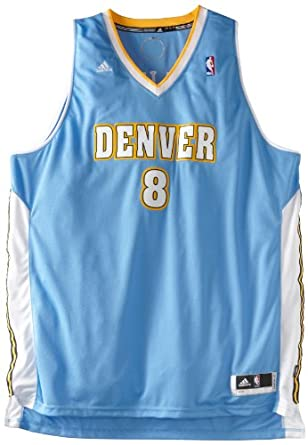 NBA Denver Nuggets Danilo Gallinari Revolution 30 Road Swingman Jersey H Size by adidas