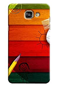 Clarks Kids Inpired Hard Plastic Printed Back Cover/Case For Samsung Galaxy A5 2016