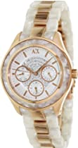 AX Armani Exchange Multi-Function Mother of Pearl Dial Ladies Watch AX5154