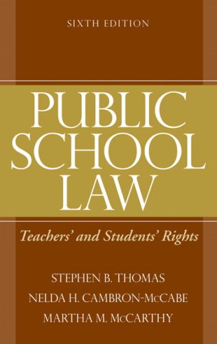 Public School Law: Teachers' and Students' Rights (6th...