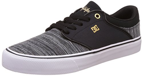 dc-shoes-mikey-taylor-vulc-tx-se-zapatillas-para-hombre-negro-black-grey-white-42-eu