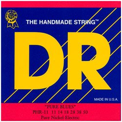 DR Strings Pure Blues Pure Nickel Wrap Round