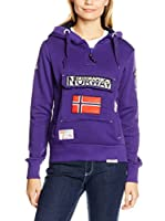 Geographical Norway Sudadera con Capucha Gymclass (Violeta)